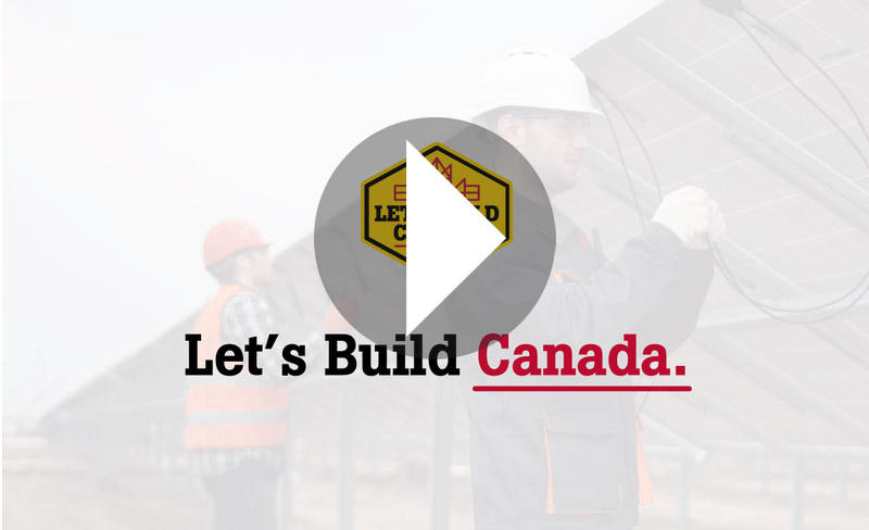 Let's Build Canada video link